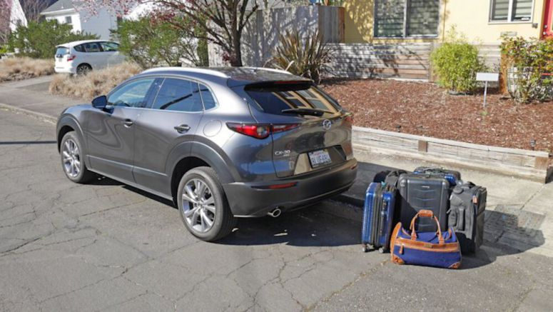 Mazda CX-30 Cargo Capacity Test | How much fits in the trunk?