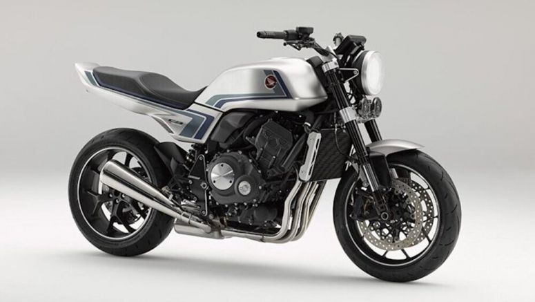 Honda CB-F motorcycle concept revealed with retro design