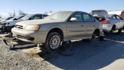 Junkyard Gem: 2000 Subaru Legacy GT Limited Sedan