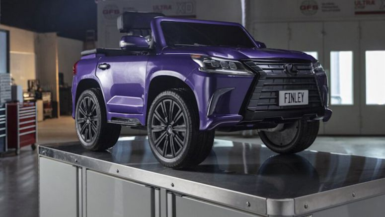Lexus made an LX ride-on for a child with cerebral palsy