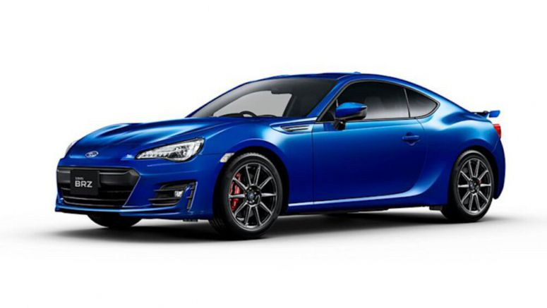 Subaru BRZ Final Edition to be sold in Germany