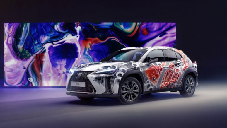 Lexus commissioned the world's first tattooed car