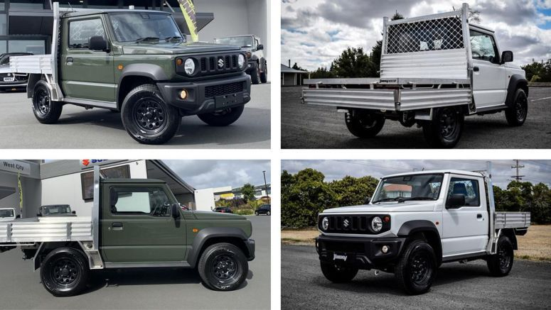 Suzuki Jimny Gets A Cute Ute Conversion In New Zealand