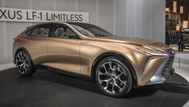 Lexus LQ expected to top the brand's crossover offerings by 2022