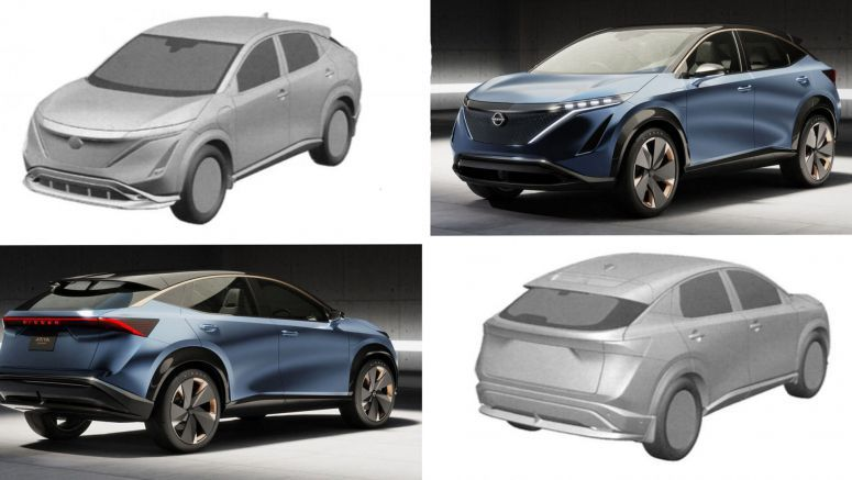Nissan's Ariya Concept Appears Ready For Production As New Patent Photos Surface