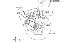 Mazda patent shows rotary placement in complex AWD hybrid layout