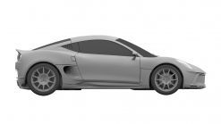 Yamaha, Gordon Murray's canceled sports car shown in patent drawings