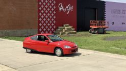 2000 Honda Insight with 5,400 miles on Bring a Trailer