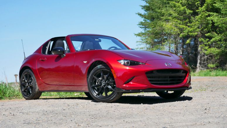 2020 Mazda MX-5 Miata RF Road Test | Automatic transmission, performance, roof