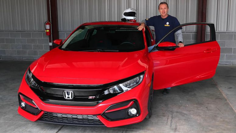 What Does A Pro Racing Driver Think Of Honda's 2020 Civic Si Coupe?