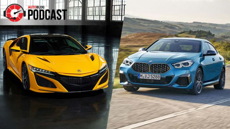 Autoblog Podcast #628: Driving the Acura NSX, 2 Series Gran Coupe and Honda Civic Si