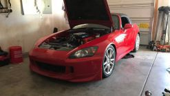 What Do You Think Of This Honda S2000 With An Acura V6 Engine Swap?