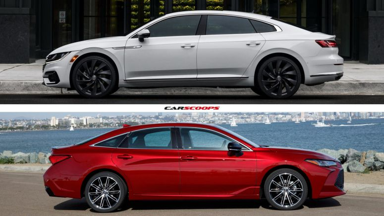 2020 Toyota Avalon vs. 2019 VW Arteon: They Cost The Same, So Which Would You Rather Have?
