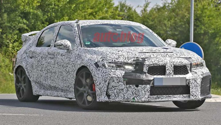 2022 Honda Civic next-gen Type R caught in spy photos