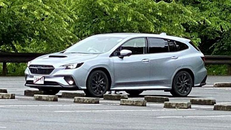 Subaru's New Levorg Spotted Undisguised In Japan, Looks Just Like STI Show Car