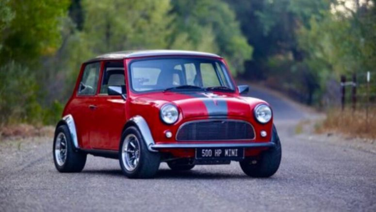 Gildred Racing Super Cooper Type S resto-modded Mini unveiled