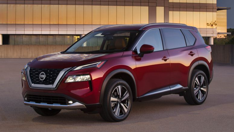 2021 Nissan Rogue specs compared with compact crossover SUVs