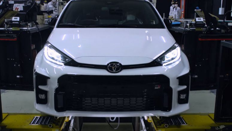 Watch: The Toyota GR Yaris Is Manufactured In A Very Special Factory