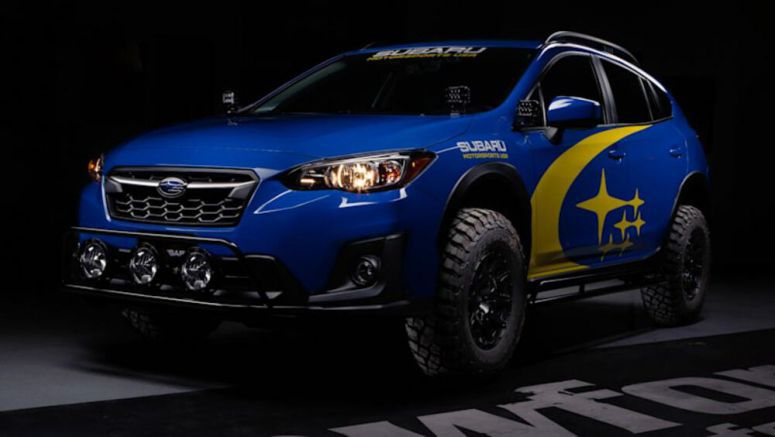 Crawford Performance builds lifted Subaru Crosstrek
