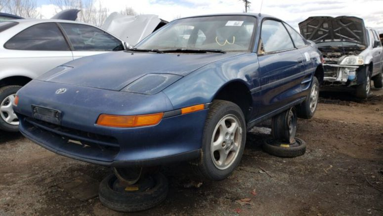 Junkyard Gem: 1991 Toyota MR2