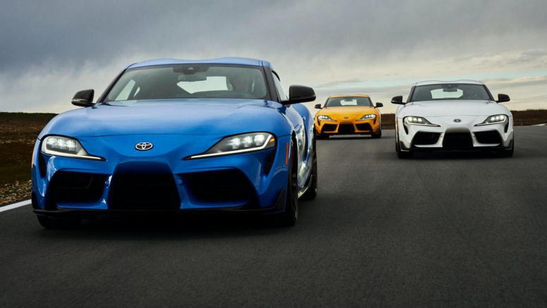 Hotter Toyota Supra GRMN May Get The BMW M3's Twin-Turbo Engine