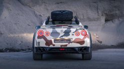 Jacked-Up, 600 HP Nissan GT-R Makes For Quite A Nice Off-Roader