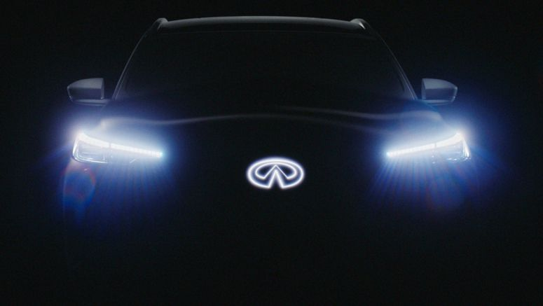 Infiniti Teases QX60 Monograph Prototype, Reveal Set For Sept. 24