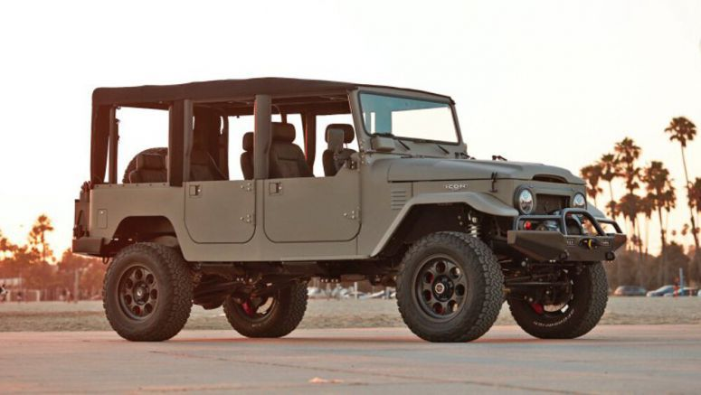 Omaze is raffling off an Icon-restored FJ44 and $20k cash