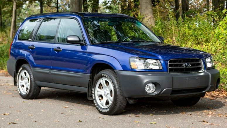This Pristine 2003 Subaru Forester Has Just 6,450 Miles On The Clock
