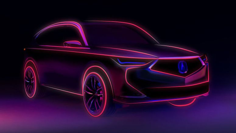 Next-generation Acura MDX teaser and reveal date released
