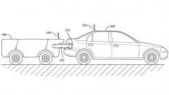 Toyota patents tanker trailer for autonomous, 'on-the-fly' refueling