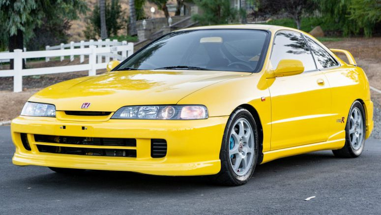 This 2001 Acura Integra Type R Ticks All The Right Boxes