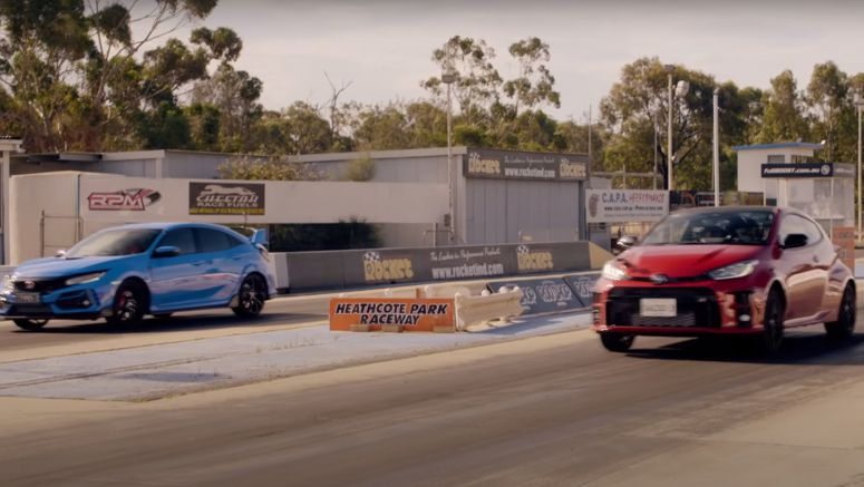 Toyota GR Yaris Wipes The Floor With New Honda Civic Type R