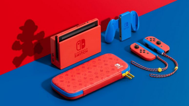 Nintendo Unveils A Super Mario Themed Nintendo Switch Console