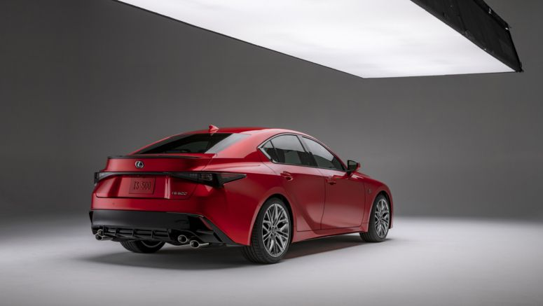 The Lexus IS F formula returns for 2022 in the 472-hp IS 500 F Sport Performance