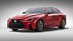 2022 Lexus IS 500 F Sport Performance Brings Naturally Aspirated, 472 HP V8 Thrills To America
