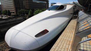 Japan's bullet trains go faster