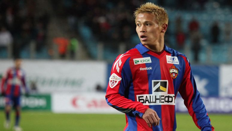 Soccer: Honda sure of CSKA exit but says he will weigh options other than Milan
