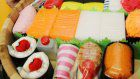 """Diaper sushi"" proving popular as baby gift in Japan"