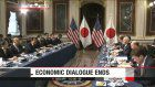 Aso, Pence conclude talks on trade, N.Korea