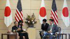 Abe vows to beef up alliance with US amid N. Korea threat