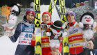Ski jumping: Japan's Kobayashi wins 1st World Cup gold