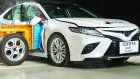2018 Toyota Camry scores five-star ANCAP ratingRange-wide AEB helps deliver strong result