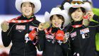 Speed skating: Japan wins World Cup women's team pursuit with new world record