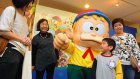 Fujiko Fujio A's hometown Himi becomes a world of manga