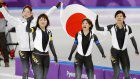 Olympics: Japan wins gold in women's speed skating team pursuit