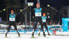 Olympics: Japan faces German test again in Nordic combined team event