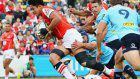 Rugby: Sunwolves make just 1 change to starting XV for Blues clash