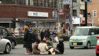 Kyoto students arrested for setting up table in middle of busy intersection