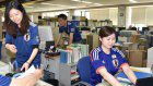 Photo Journal: Samurai Blue fever flourishes in Fukushima